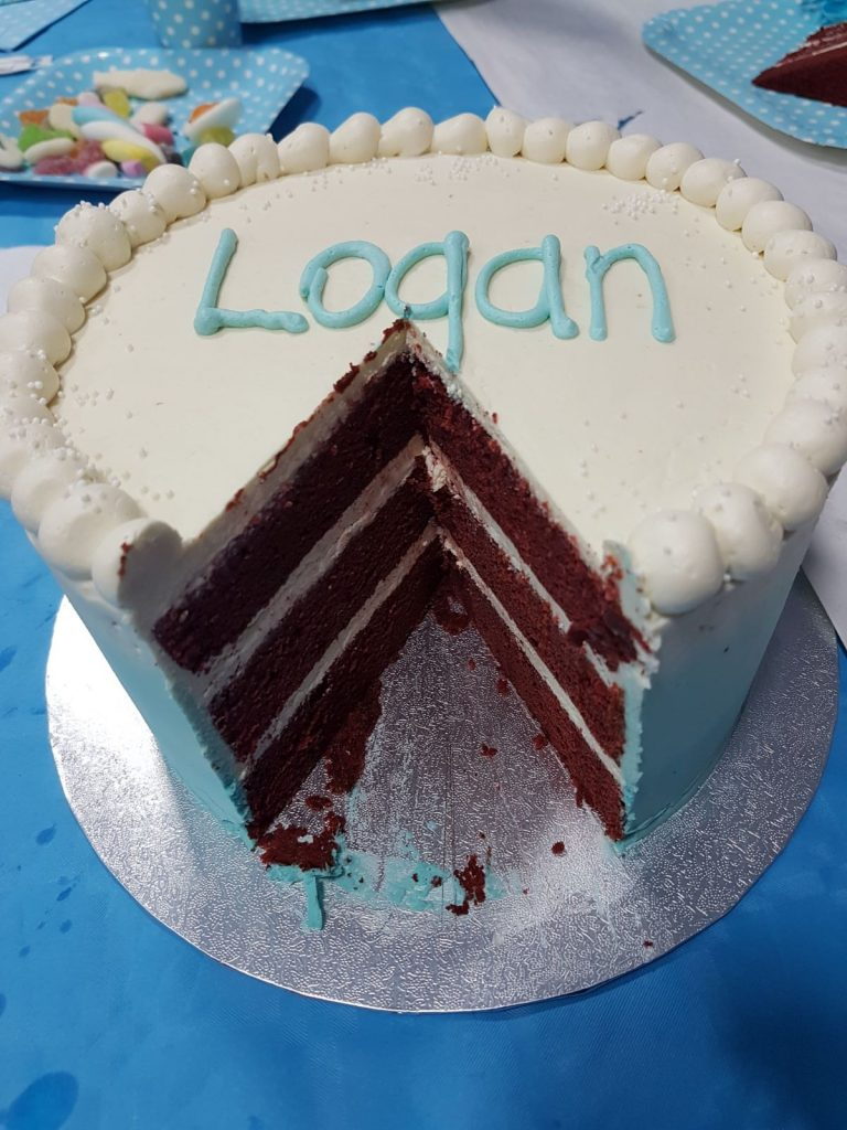 Babyshower logan, tarta