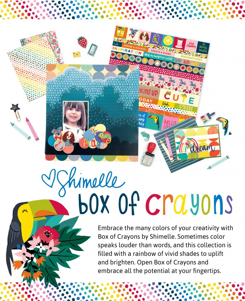 Box of crayons, Shimelle